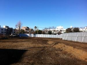 [旧千川小学校]跡地の解体工事完了