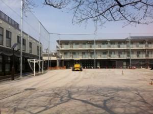 旧千川小学校校庭 リニューアルオープン